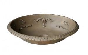 Lavabo bằng đồng Kanly BS026