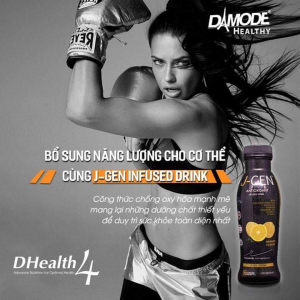 J-GEN Anti-Aging Antioxidant Bottles - Bộ 4 Chai