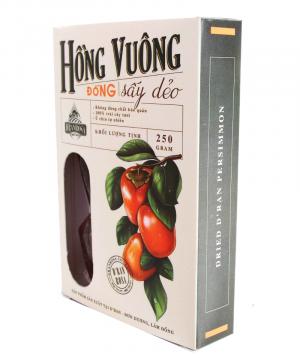 Hồng Vuông Tám Hải Dẻo - Đặc Sản Lâm Đồng