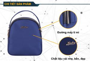 Balo mini Kim Long KL403 (Xanh)