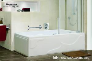 Bồn tắm dài Việt Mỹ Model 16N