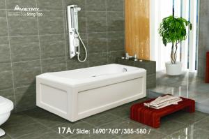 Bồn tắm dài Việt Mỹ Model 17A