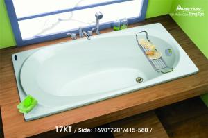 Bồn tắm dài Việt Mỹ Model 17KT