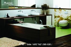 Bồn tắm dài Việt Mỹ Model 17RF
