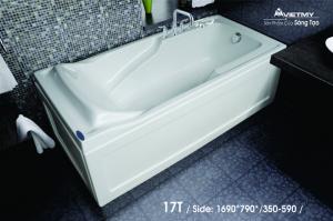 Bồn tắm dài Việt Mỹ Model 17T