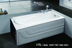 Bồn tắm dài Việt Mỹ Model 17TL