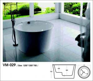 Bồn tắm Oval Việt Mỹ Model VM-029